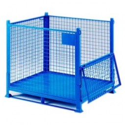 STEEL STORAGE CAGE – ELECTRIC AND ELECTRONIC WASTE DISPOSAL