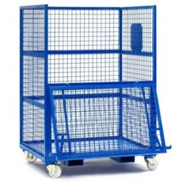 STEEL STORAGE CAGE – ELECTRIC AND ELECTRONIC WASTE DISPOSAL (Medium)